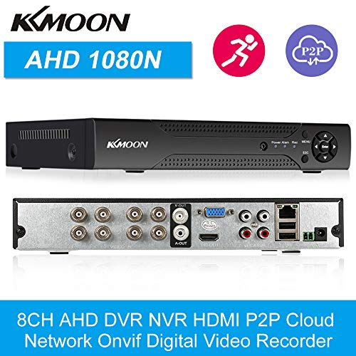 KKmoon 8 Channel 720P CCTV Network DVR H.264 HDMI Home Security System Motion Detection from KKmoon