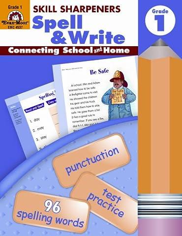 Skill Sharpeners Spell & Write, Grade 1 (Language Of Spells)