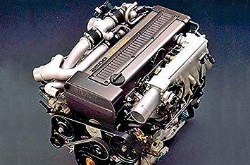 De fibra de carbono para Toyota Supra 1JZ Motor Bujía Cubierta: Amazon.es: Coche y moto