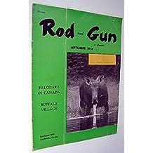 Rod & Gun in Canada Magazine, September 1958