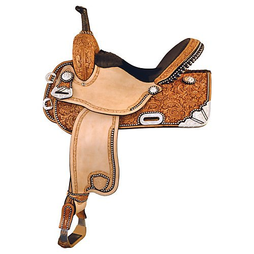 Tex Tan Silver Show Barrel Saddle