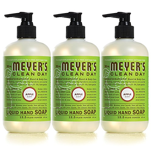 Mrs. Meyer´s Clean Day Hand Soap, Apple, 12.5 fl oz, 3 ct by Mrs. Meyer's Clean Day