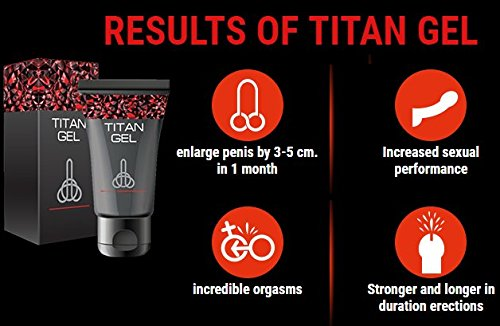 Amazon Com Titan Gel Special Gel For Men Health Personal Care