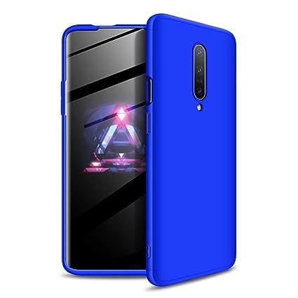 GoodcAcy Funda Oneplus 7 Pro,Carcasa Móvil de Protección de 360°+ Cristal Templado HD Protector de Pantalla 3 en 1 Desmontable con Caso Case Cover ...