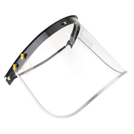FLAMEER Escudo de Cara Soldar Película Protectora Plástica Protector Accesorio de Equipamiento Industrial