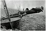 Sailing in Chichester Harbor England 1957 Archival Photo Poster 19 x 13in