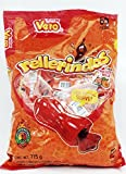 Vero Mexican Candy Rellerindos Watermelon flavor - 65 Authentic Mexican Candy with Free Chocolate Kinder Bar Included