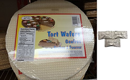 (Pack of 2) Tort Wafers 100 g / 3.50z. Includes HolanDeli Chocolate - Wafer Chocolate Mint