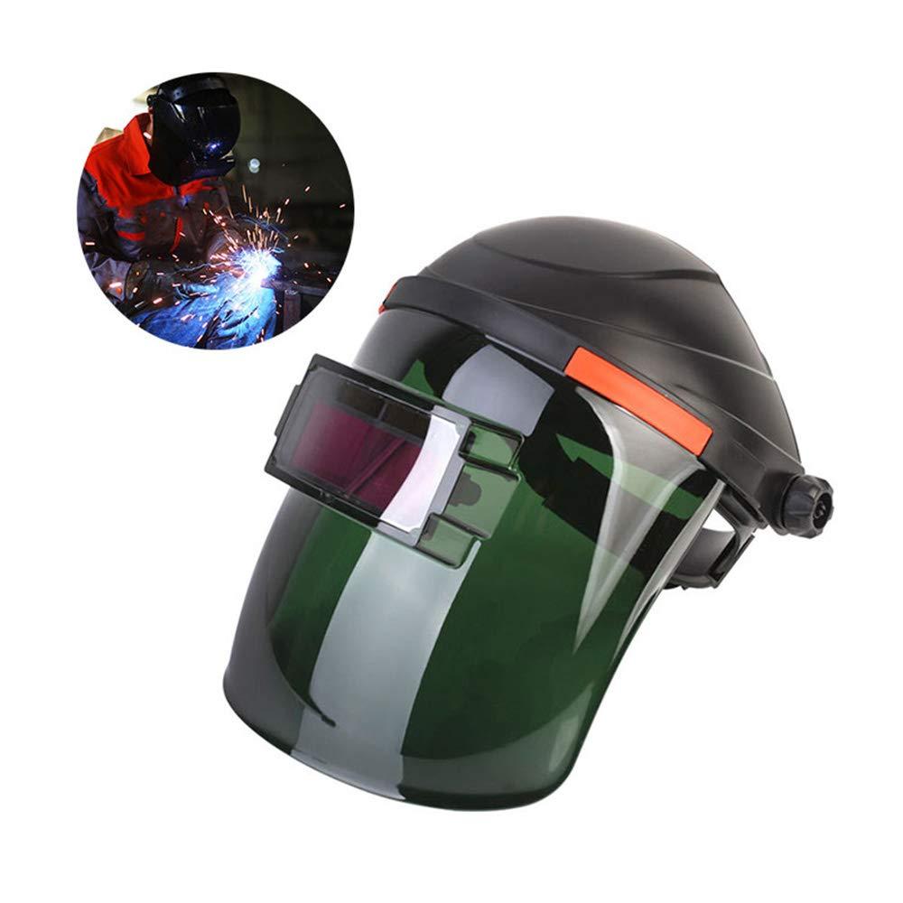 Solar Powered Welding Mask Welding Helmet Auto Darkening Solar Powered Hood, Electronic Welding Mask with Adjustable Shade Range for Weld Grinding Welder Mask & Other Work Protection UMIWE 1