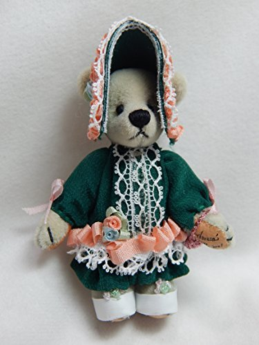 World of Miniature Bears 2.5 Plush Bear Penelope  991 Collectible Miniature Bear Made by Hand by World of Miniature Bears