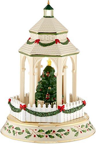 Lenox holiday tree lighting gazebo centerpiece the home