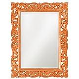 Howard Elliott 2113O Chateau Mirror, Glossy Orange