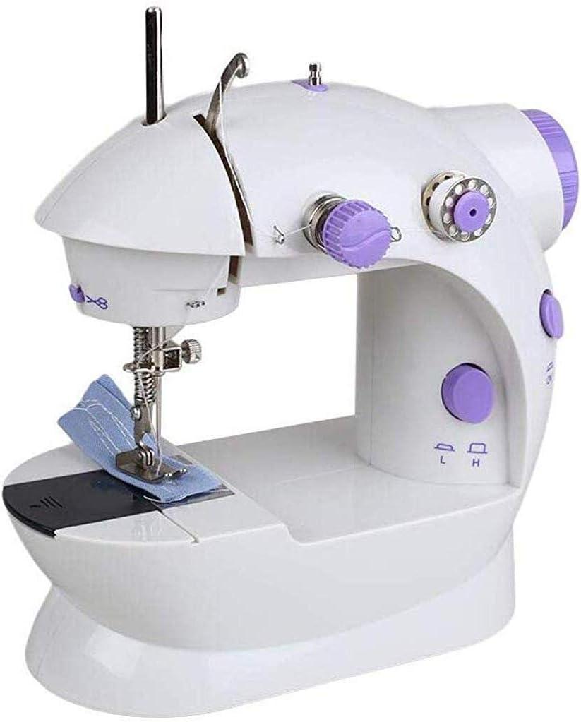 Máquina de coser portátil, Pequeña máquina de coser eléctrica con ...