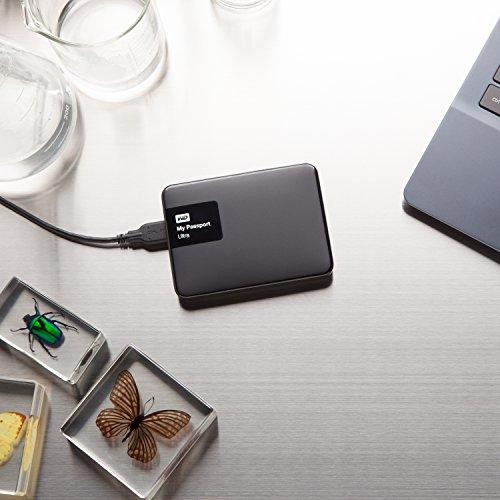 WD 1TB Black My Passport Ultra Portable External Hard Drive - USB 3.0 - WDBGPU0010BBK-NESN
