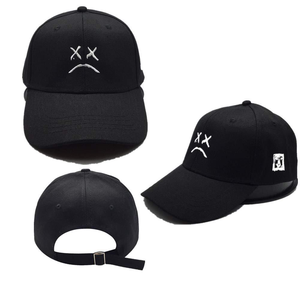 Sad face Dad Hat Embroidery Baseball Hat 0083e9892fa