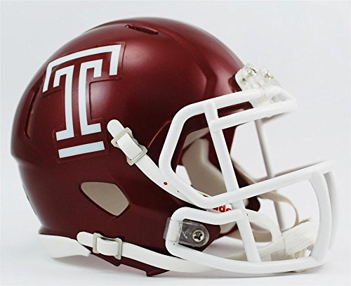 NCAA Temple Owls Speed Helmet