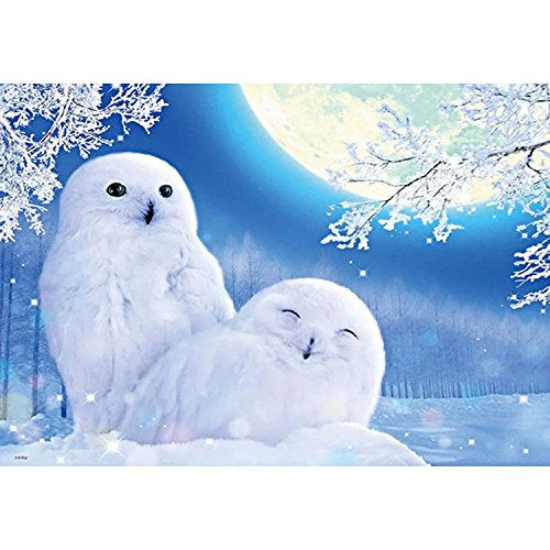 SODIAL 5D Diy Diamond Painting winter owl Cross Stitch diamond Mosaic Kits Home Decoration full Square Diamond Embroidery animal owl
