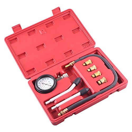 GZYF Multi-function Compression Gauge Test Set for Engine Cylinders Diagnostic Tester Gauge Set 0-300psi