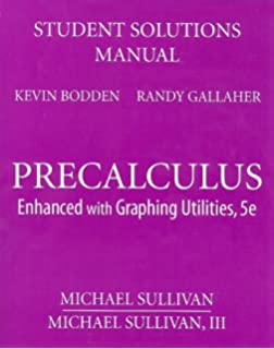 Precalculus enhanced with graphing utilities 5th edition michael student solutions manual for precalculus enhanced with graphing utilities fandeluxe Images