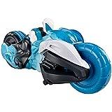 Max Steel - Pack de figuras de acción, Turboluchadores, turbocicleta (Mattel Y1406)