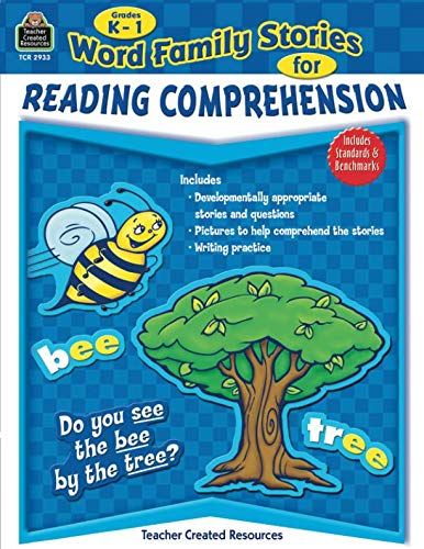 Word Family Stories for Reading Comprehension Grd K-1