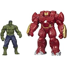 Marvel Avengers Age of Ultron Hulk and Marvel's Hulk Buster 2.5-Inch Figures