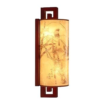 Qing Coucher En Chambre À Murale Mei Chinoise Applique Bois RAL35jqc4