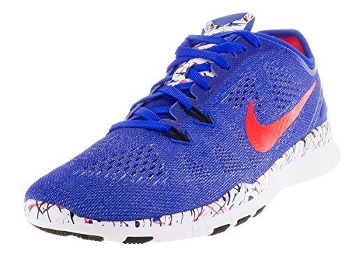 5 Blue Nike 5 Crmsn TR Brght Shoes Cross Free Rcr Fit PRT Blk Women's Training White 0 7TqwT51r