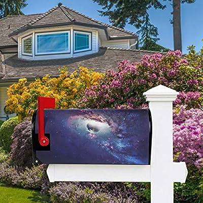 Oarencol Universe Planet Star Galaxy Space - Fundas magnéticas para buzones de buzón, decoración para jardín, patio, hogar, tamaño extragrande, 25.5 pulgadas x 21 pulgadas: Amazon.es: Jardín