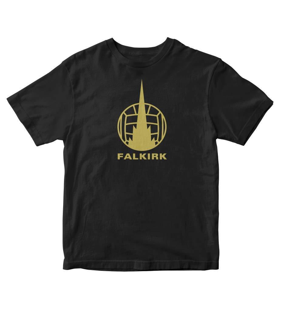 Tjsports Falkirk Football Club Scotland Soccer Football T Shirt