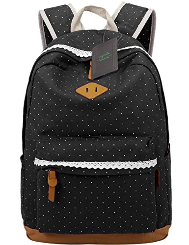 Mygreen Canvas School Backpack Bookbag product image