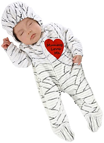 Best Newborn Halloween Costumes - Princess Paradise Baby's Mummy Loves Me Deluxe Costume, As Shown, 0/3M