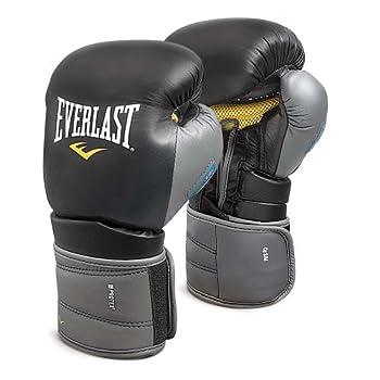 Image of Bag Gloves Everlast 111201XLGL Protex3 Gel Hook & Loop Gloves Black 12 0Z
