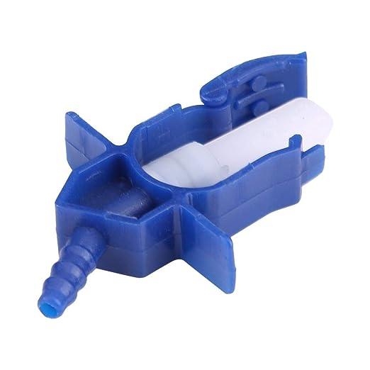 Diesel Diagnostic 6 cilindri Adattatore Common Rail Tester Kit test linea di alimentazione Iniettore Flow Set Leak Off Tester Misuratore di portata iniettore
