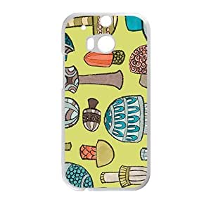 Lovely Mushroom Creative Cell Phone Case For HTC M8 by ruishernameMaris's Diary
