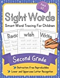 Dolch Second Grade Sight Words: Smart Word Tracing For Children. Distraction-Free Reproducibles for Teachers, Parents and Homeschooling (Dolch Sight Words Mastery)