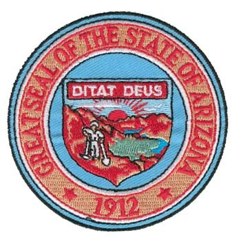 Arizona State Seal - 7