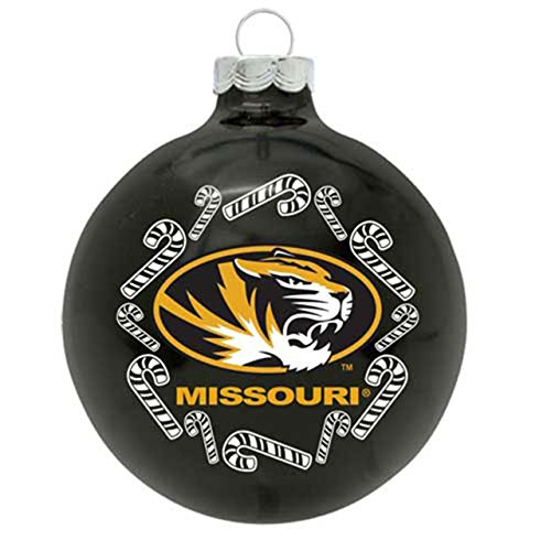 Tigers Candy Cane Ornament - NCAA Missouri Tigers Hanging Ornament
