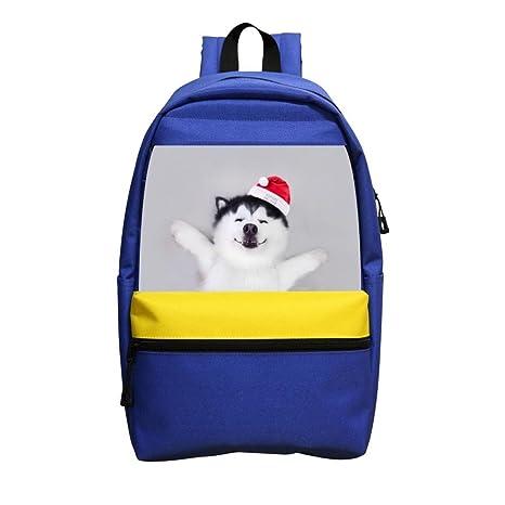 Husky Kids Adjustable Strap Backpack