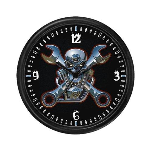 Wall Clock Motorhead Skull Wrenches