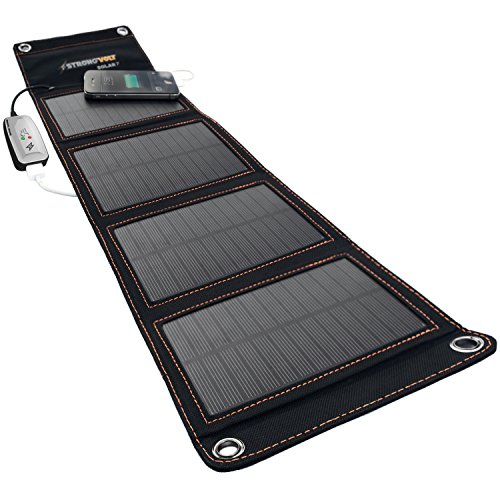 StrongVolt Portable Solar Charger with SunTrack Technology - 7 Watts by StrongVolt