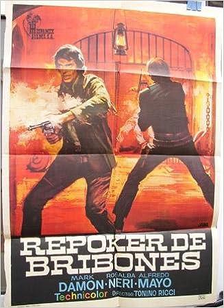Cartel cine - Movie Poster : REPOKER DE BRIBONES - Original ...