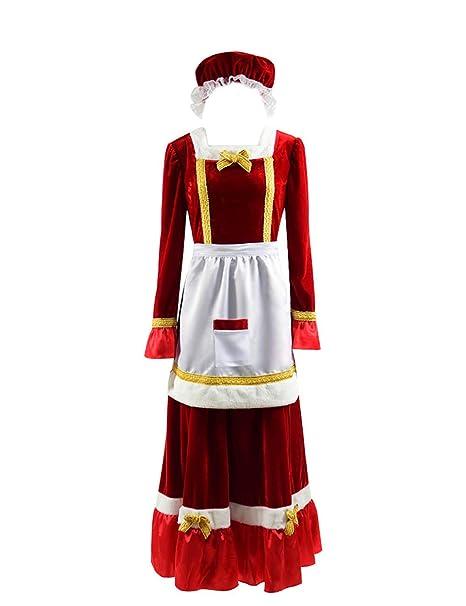 Amazon.com: tisea Hombres Guardianes de Papá Noel disfraz de ...
