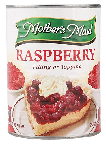Mothers Maid Mother'S Maid Raspberry Pie Filling, 595G
