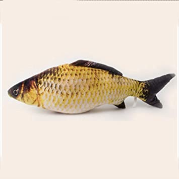 Visork Realistic <b>Cat Toy Simulation Fish Pet</b> Toy Fish Shape Toy ...