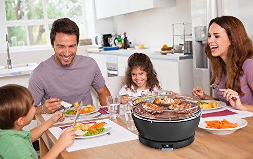 Aobosi Rauchfreier Holzkohlegrill : Rauchfreier indoor holzkohlegrill tischgrill texas innovative grill