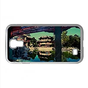Private Gardens In The Forbidden City Watercolor style Cover Samsung Galaxy S4 I9500 Case (China Watercolor style Cover Samsung Galaxy S4 I9500 Case)