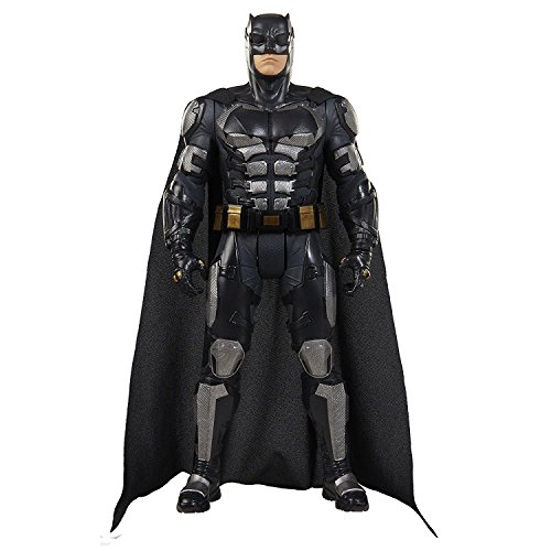Jakks Pacific Big-Figs Justice League Batman Tactical Suit, 19 inch, 9 pieces ()