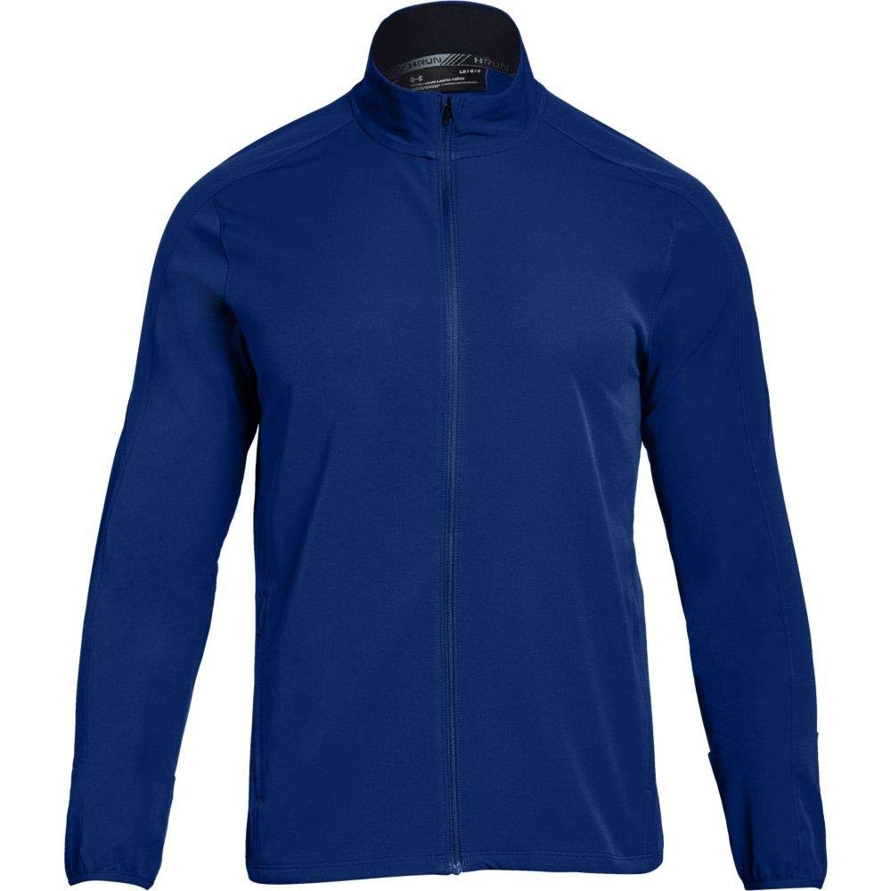 Under Armour Men's Storm Out & Back Jacket, Formation Blue (574)/Reflective, Small