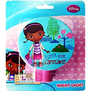 Disney Doc McStuffins Night Light, Assorted Styles